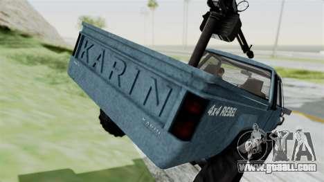 GTA 5 Karin Technical Machinegun IVF for GTA San Andreas side view