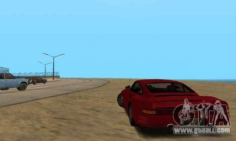 Porsche 959 for GTA San Andreas right view