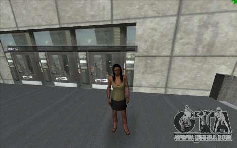 A visual change of the skin for GTA San Andreas third screenshot