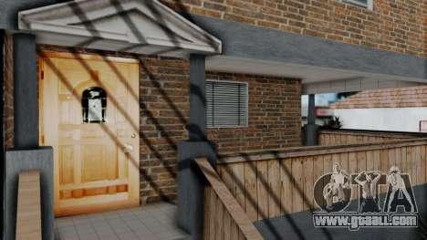 New texture at home Se v2 (with interior) for GTA San Andreas third screenshot