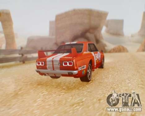 Nissan 2000GT-R [C10] Tunable for GTA San Andreas