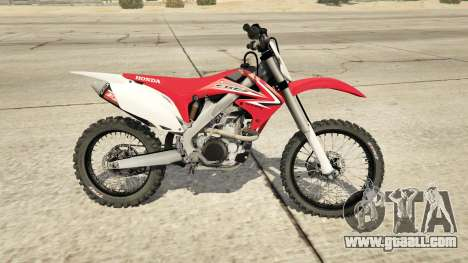 GTA 5 2009 Honda CRF450R left side view