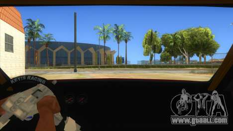 GTA V Sentinel RS MKII for GTA San Andreas inner view