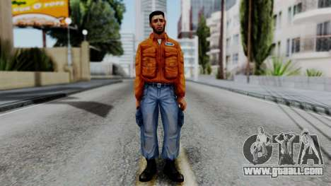 CS 1.6 Hostage 01 for GTA San Andreas second screenshot