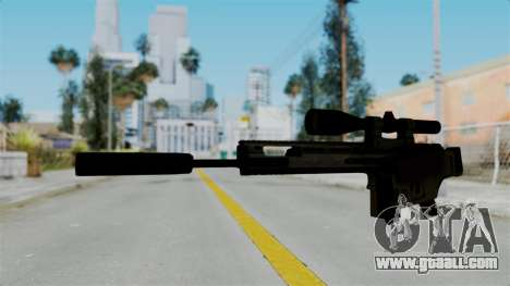 SCAR-20 v2 Folded for GTA San Andreas