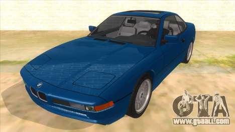 BMW 850i E31 for GTA San Andreas