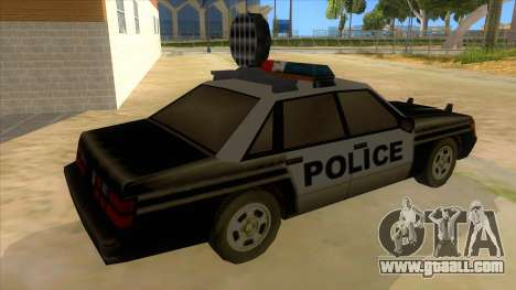 Police Car from Manhunt 2 for GTA San Andreas right view