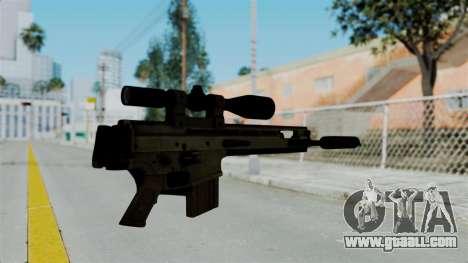 SCAR-20 v2 Folded for GTA San Andreas second screenshot