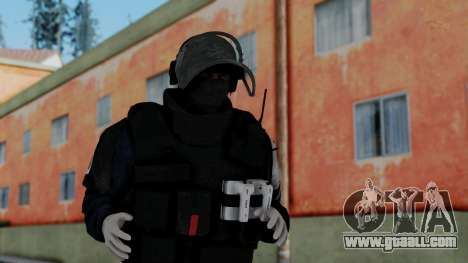 GIGN from Rainbow Six Siege for GTA San Andreas