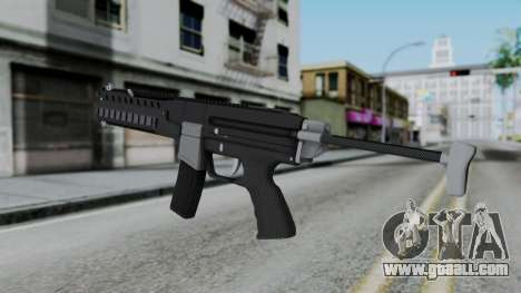 GTA 5 Combat PDW - Misterix 4 Weapons for GTA San Andreas second screenshot
