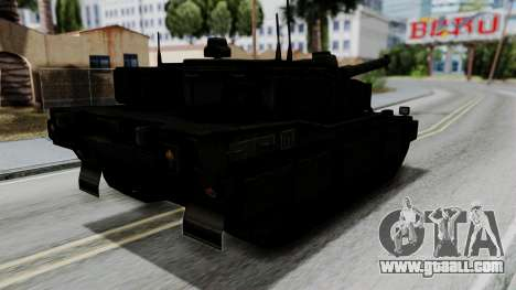 Point Blank Black Panther Woodland for GTA San Andreas left view