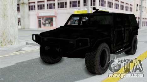 HMLTV-998 BULDOG from Crysis 2 for GTA San Andreas