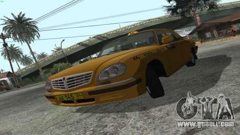 GAZ 31105 Volga Taxi IVF for GTA San Andreas left view