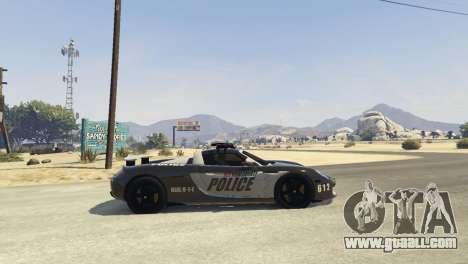 Porsche Carrera GT Cop for GTA 5