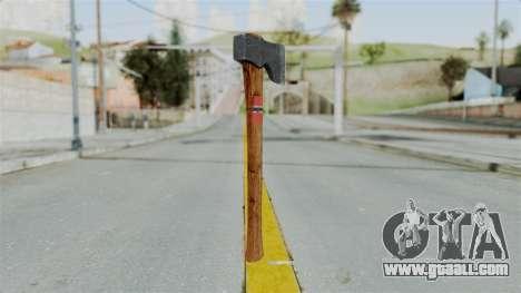 GTA 5 Hatchet - Misterix 4 Weapons for GTA San Andreas second screenshot