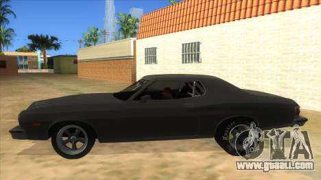 Ford Gran Torino Drag for GTA San Andreas left view