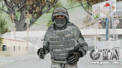 Acu Soldier Balaclava v4 for GTA San Andreas
