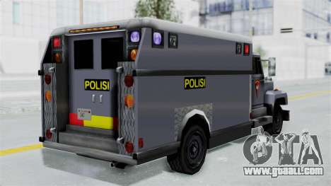 Indonesian Police BRIMOB Enforcer for GTA San Andreas left view