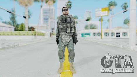 Acu Soldier 6 for GTA San Andreas second screenshot