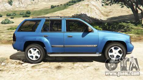 GTA 5 Chevrolet TrailBlazer left side view
