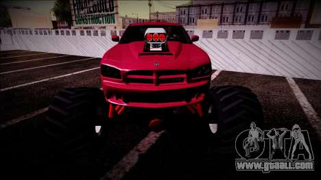2006 Dodge Charger SRT8 Monster Truck for GTA San Andreas