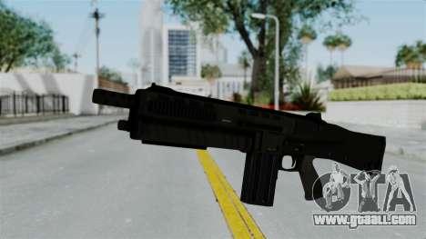 GTA 5 Assault Shotgun for GTA San Andreas second screenshot