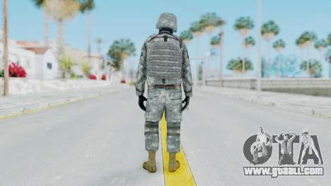 Acu Soldier Balaclava v3 for GTA San Andreas third screenshot