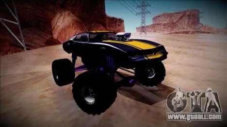 GTA 5 Imponte Phoenix Monster Truck for GTA San Andreas inner view