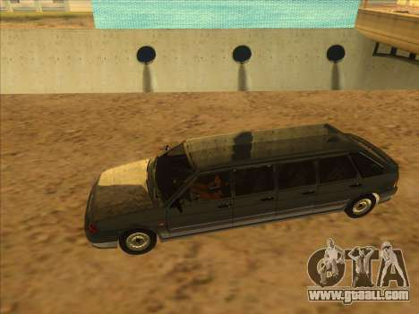VAZ 2114 9-door for GTA San Andreas right view