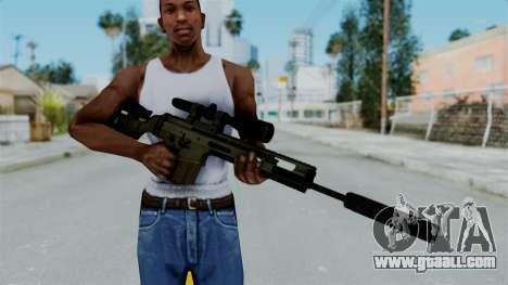 SCAR-20 v2 Supressor for GTA San Andreas third screenshot