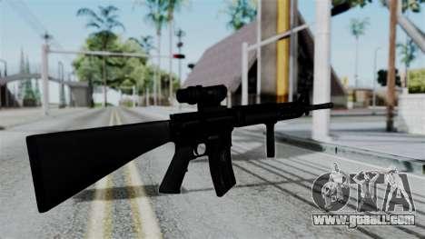 No More Room in Hell - M16A4 ACOG for GTA San Andreas third screenshot