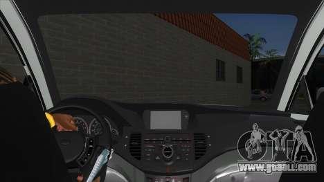 SsangYong Rodius 3.2 AT 2007 for GTA San Andreas inner view
