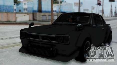 Nissan Skyline 2000GTR Speedhunters Edition for GTA San Andreas