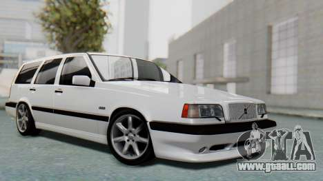 Volvo 850R 1997 Tunable for GTA San Andreas