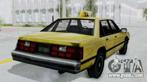 Taxi from GTA Vice City for GTA San Andreas right view
