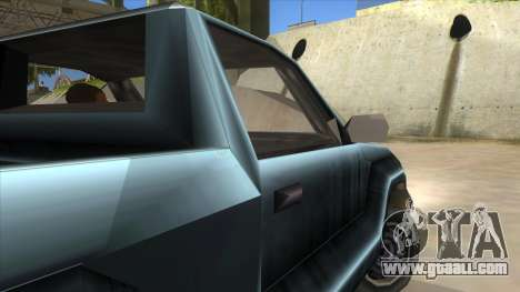 GTA III Bobcat Original Style for GTA San Andreas inner view