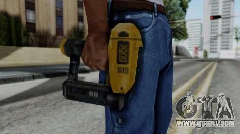 Vice City Beta Nailgun for GTA San Andreas third screenshot