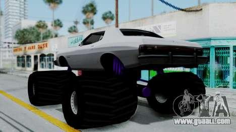 Ford Gran Torino Monster Truck for GTA San Andreas left view