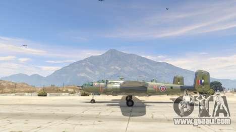 GTA 5 B-25 second screenshot