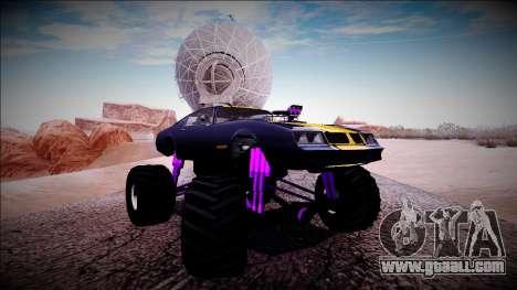 GTA 5 Imponte Phoenix Monster Truck for GTA San Andreas side view