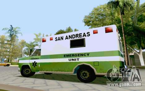 Journey Ambulance for GTA San Andreas right view