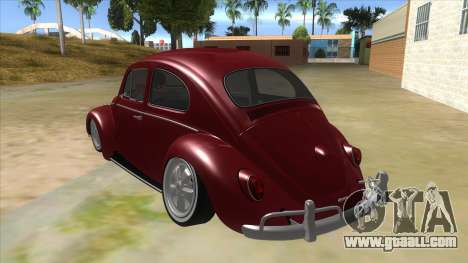 Volkswagen Beetle Aircooled V2 for GTA San Andreas back left view