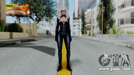 Marvel Future Fight - Black Cat for GTA San Andreas second screenshot