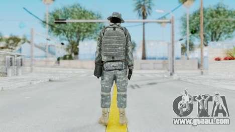 Acu Soldier 7 for GTA San Andreas third screenshot