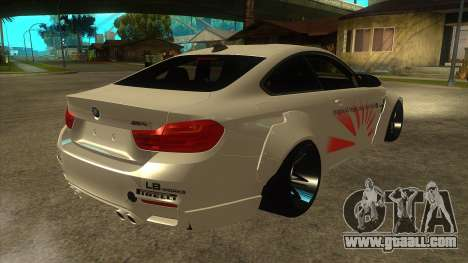 BMW M4 Liberty Walk Performance for GTA San Andreas right view