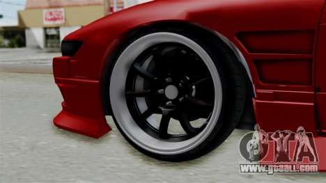Nissan Silvia S13 Drift for GTA San Andreas back left view