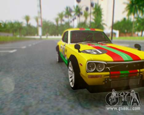 Nissan 2000GT-R [C10] Tunable for GTA San Andreas upper view