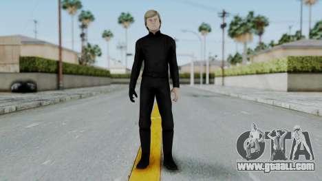 SWTFU - Luke Skywalker Jedi Knight for GTA San Andreas second screenshot