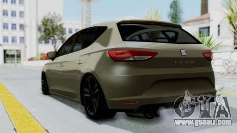 Seat Leon for GTA San Andreas left view