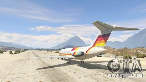 GTA 5 McDonnell Douglas DC-9-15 third screenshot